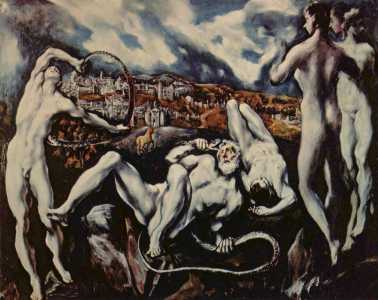 Laocoon - par El Greco 1604-1614 (National Gallery of Arts - USA Washington)